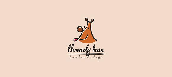Thready Bear Logo