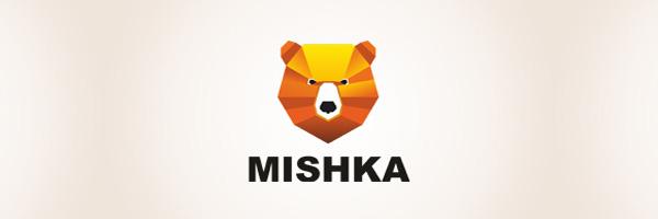 Mishka bear logo