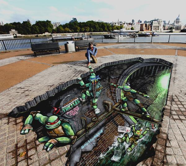 Top 10 3D Street Arts Of 2012