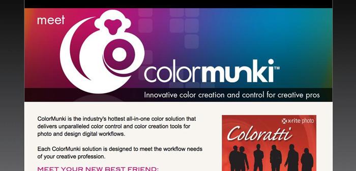 Colormunki in multicolor