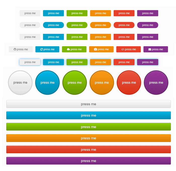 Beautiful and free css buttons for Beautiful css tables design