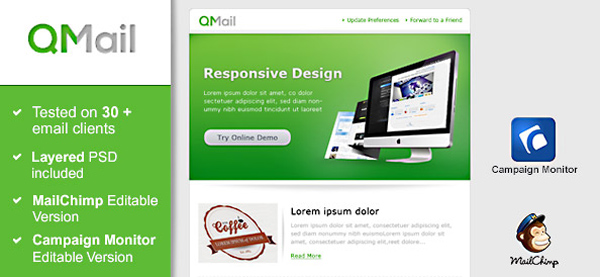 Green Email Newsletter