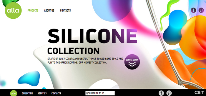 10 Inspiring Parallax Scrolling Websites Examples of 2013