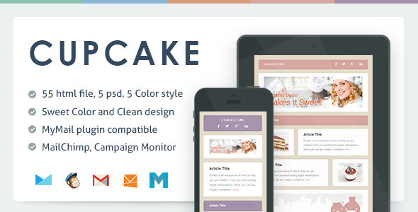Cupcake Email Newsletter