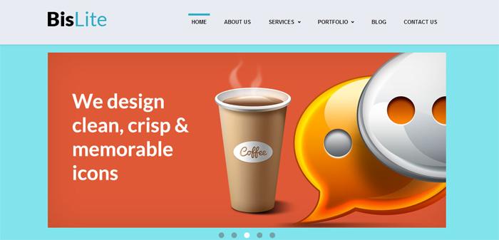 BisLite HTML Template