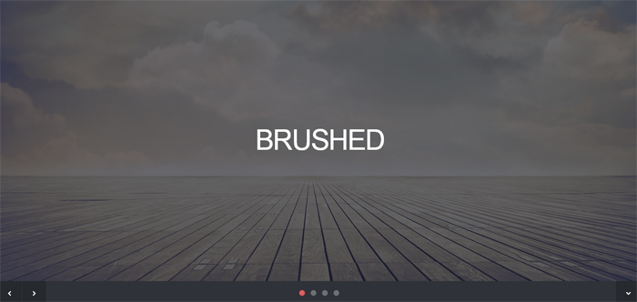 brushed template
