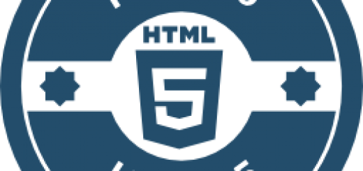 HTML5 logo in blue