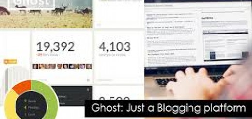 A screenshot of ghost