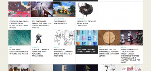 Design Fave Homepage