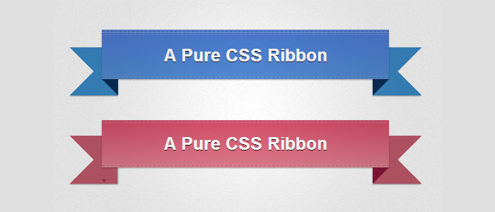 CSS Ribbon Tutorial