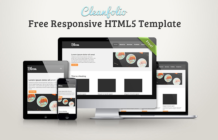 Create a Clean Website Layout PSD to HTML/CSS