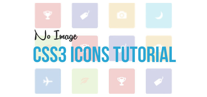 Create No Image Icons in CSS3 Tutorial
