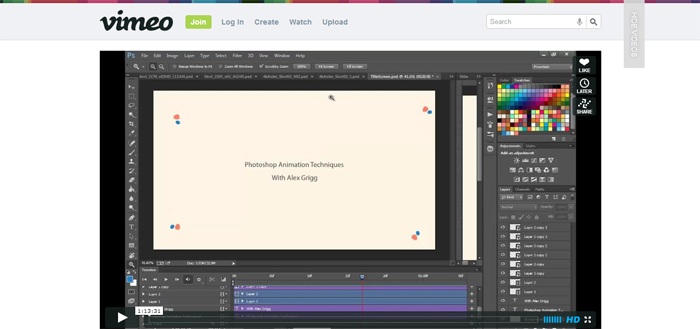 Photoshop Animations Techniques (video)