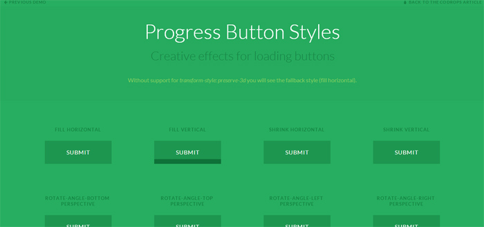Progress Buttons