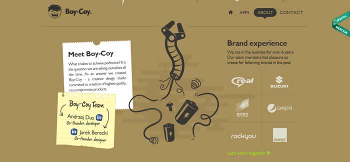 Interactive - Web Design Trend 2014