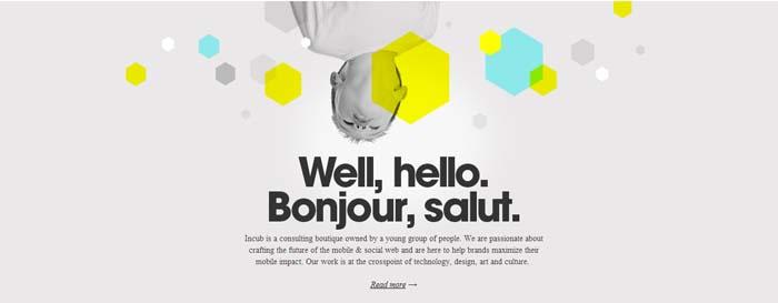 Neon Colors - Web Design Trend 2014