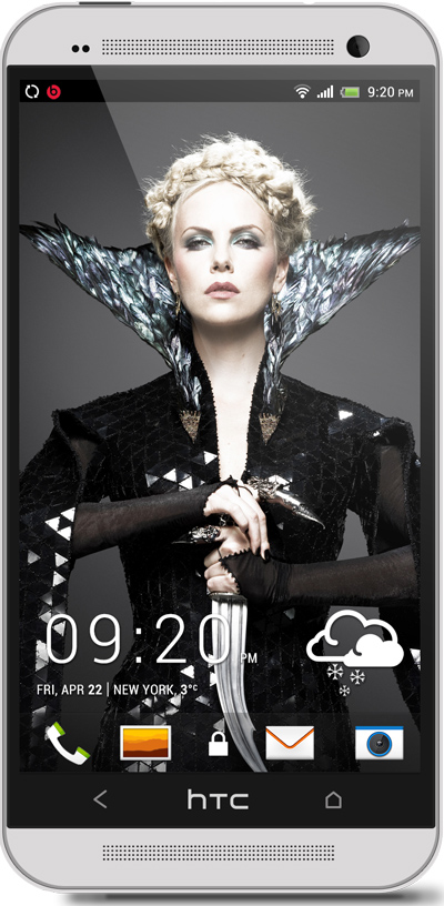 Charlize Theron HTC One Wallpaper