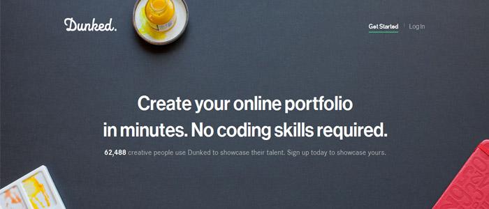 Dunked - Online Portfolio Tools