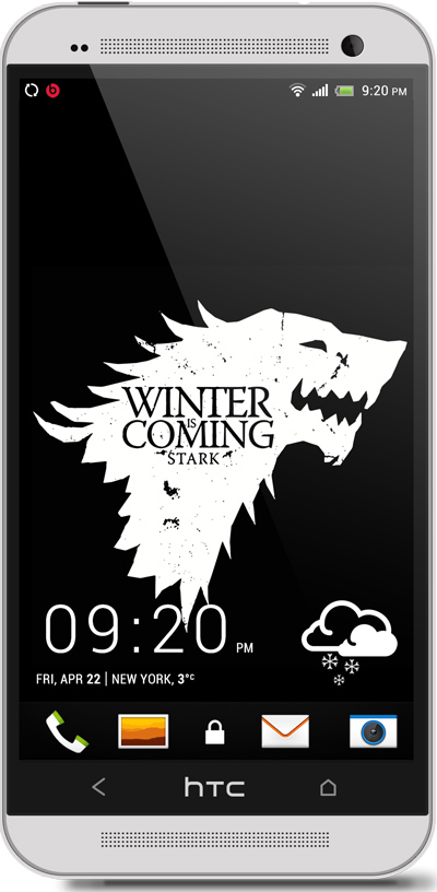 Game of Thrones HTC One Wallpaper