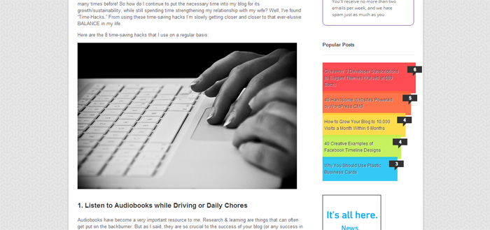 8 Time-Saving Hacks for Bloggers