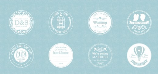 free-wedding-badges-header