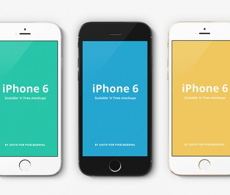 Huge List of Free iPhone 6 Mockup Design Templates (PSD, AI ...Iphone 5 Template Vector