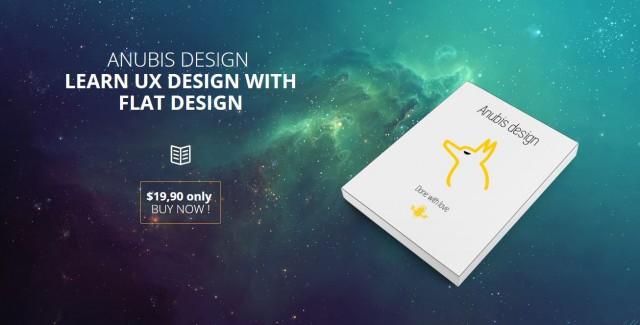 ANUBIS - Ebook & App Landing Page