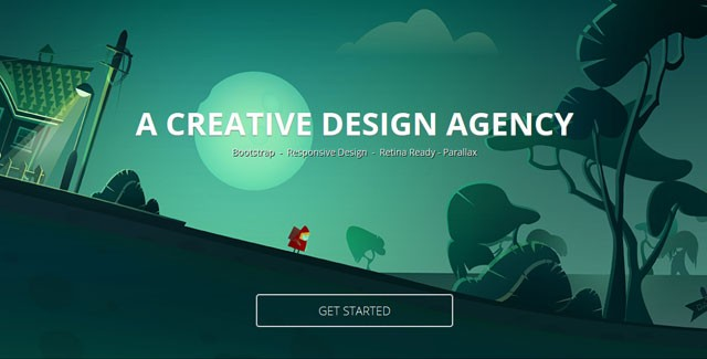 Duster - Responsive Single Page Template