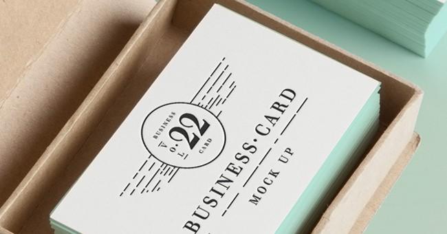 10 Impressive Business Card Mockups and Templates