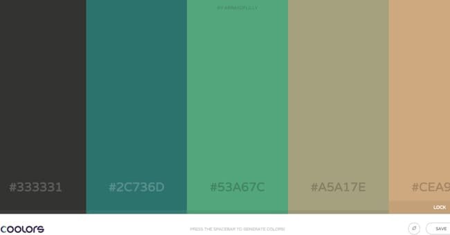 5 color generator to scheme up killer color combinations