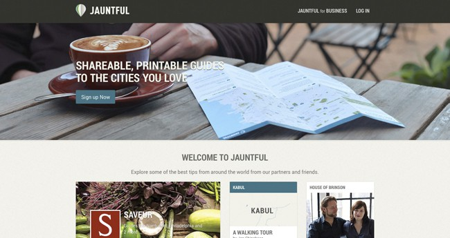 inspiration-interactive maps| Jauntful