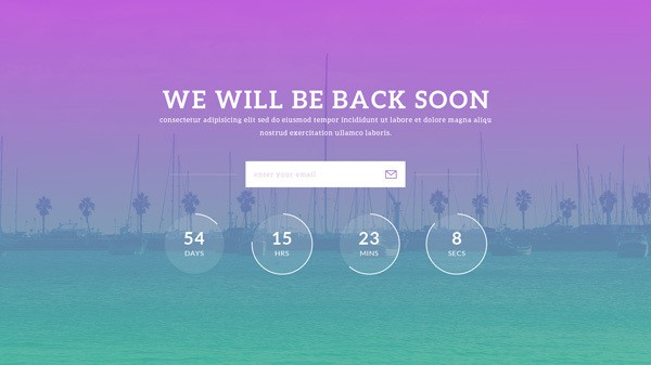 coming soon templates