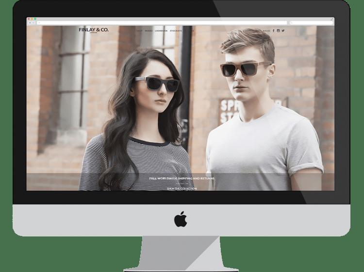 finlay e-commerce designs