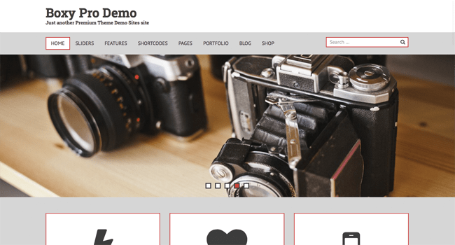 boxy_minimal wordpress themes
