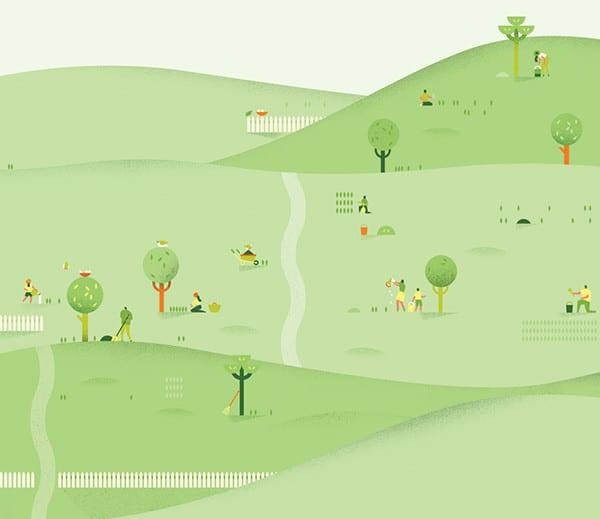 All Google Calendar Illustrations : Daily inspiration google calendar header design by lotta