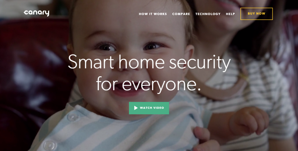 daily inspiration Canary - Wireless security system for apartments and homes - http___canary.is_