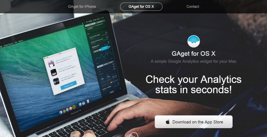 designers roundup GAget for OS X   A simple Google Analytics widget for your Mac