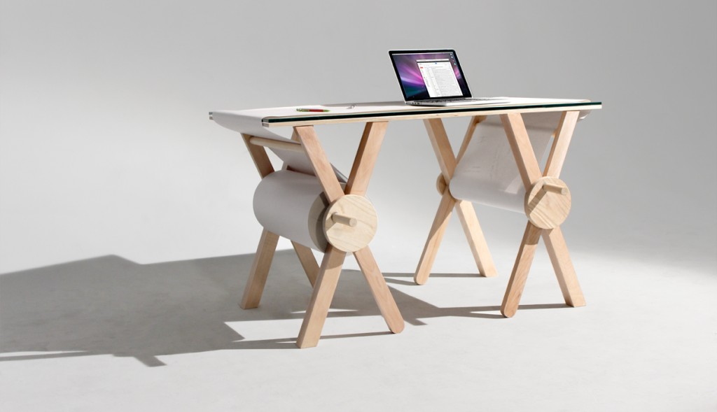 daily inspiration ANALOG MEMORY DESK
