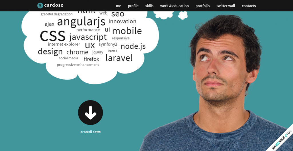 daily inspiration  gcardoso   Front End Developer