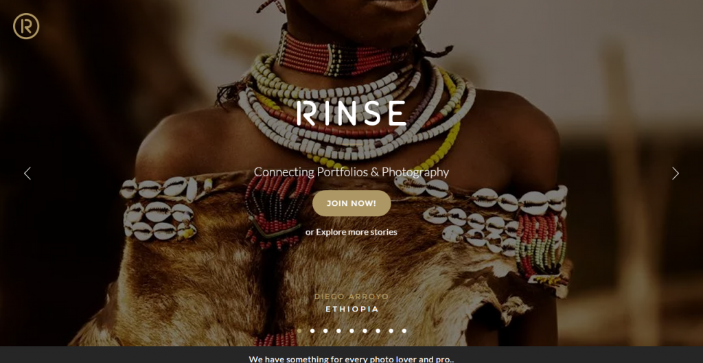 designers roundup RINSE Connecting Portfolios and Photography