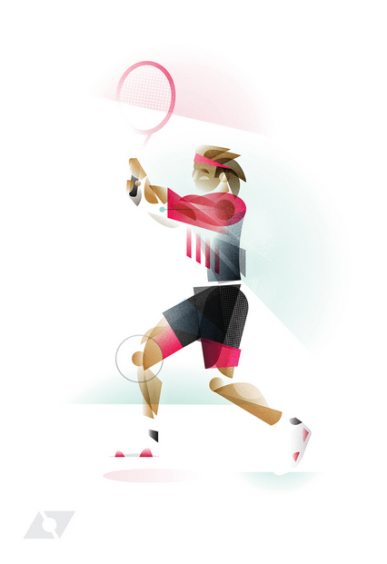 daily inspiration - The Geometry of Sport