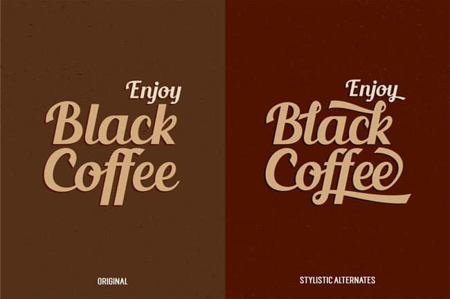daily freebie - blenda font