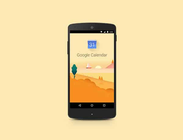 Daily Inspiration: Google Calendar Header <a href=