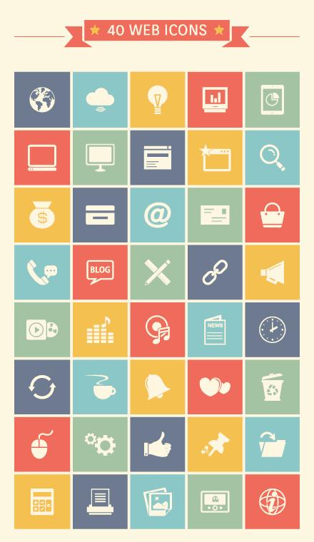 web-icon-set
