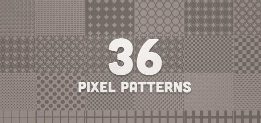36 pixel patterns