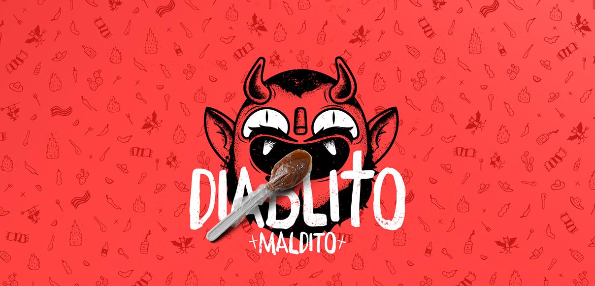 Daily Inspiration: Diablito Maldito by Menta Picante