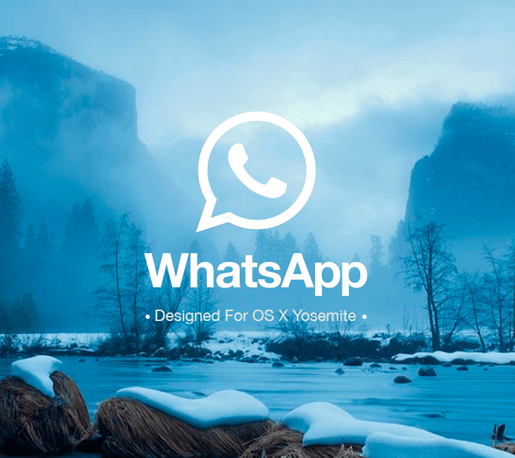 Featured Work: Whatsapp for OSX Yosemite by Christian Cabrera