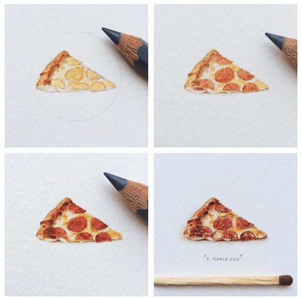 Watercolor Paintings of Epic Proportions by Lorraine Loots