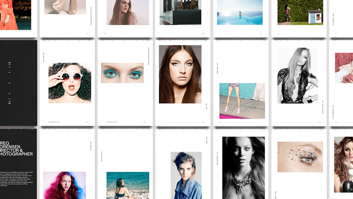 Brand & Identity: Capturing a Photographer by DIA