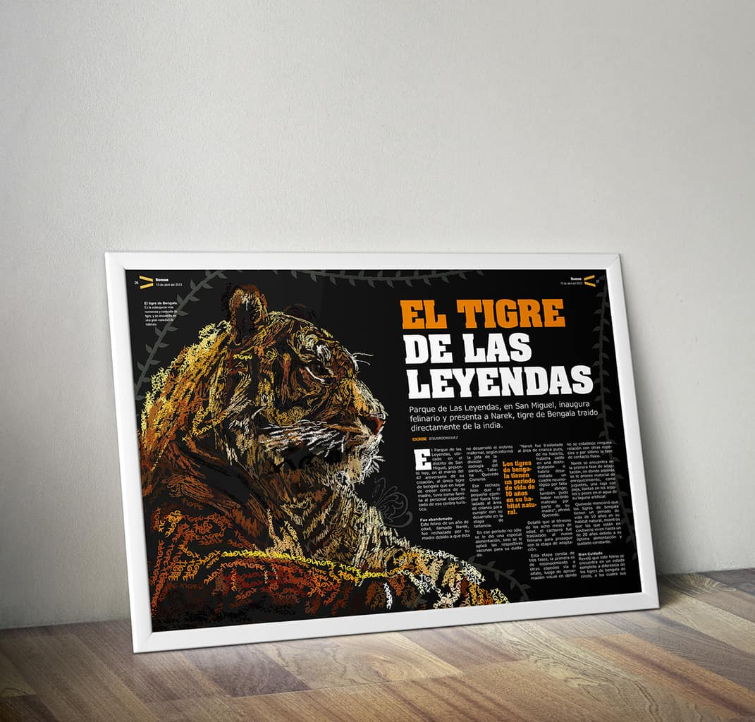 Featured Work: The Tiger of Legends by Jesús Rodríguez